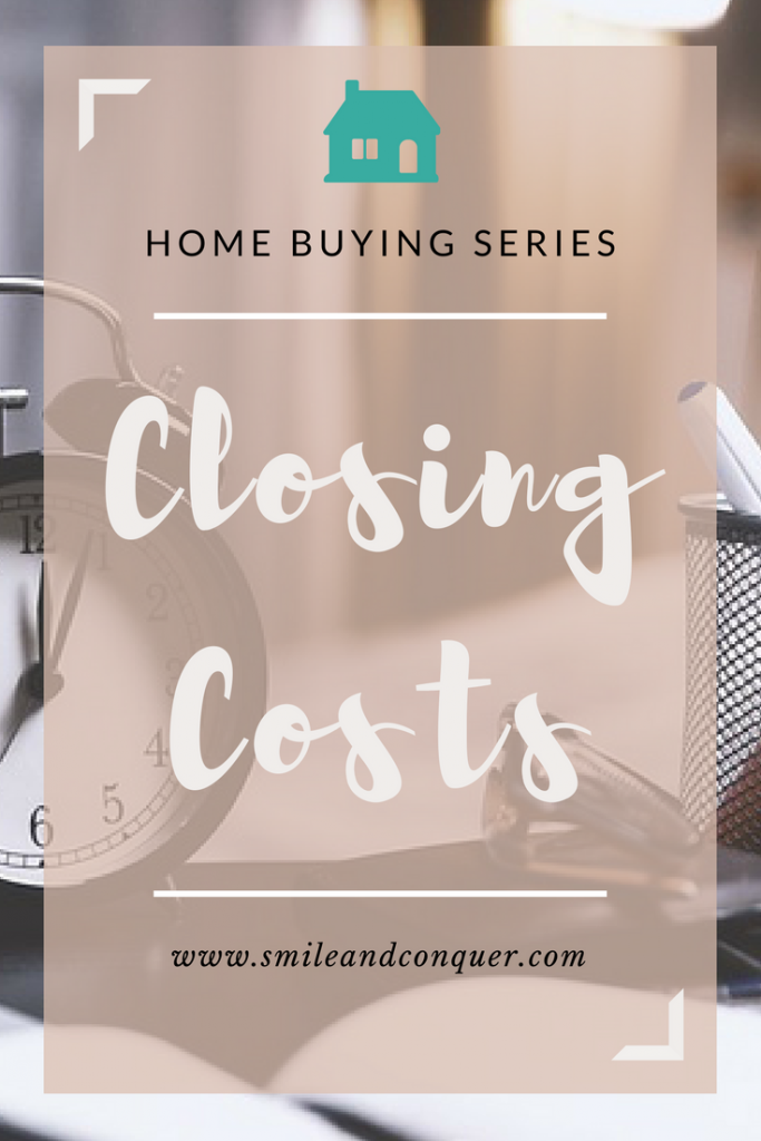 How much will the closing costs be on your first home?