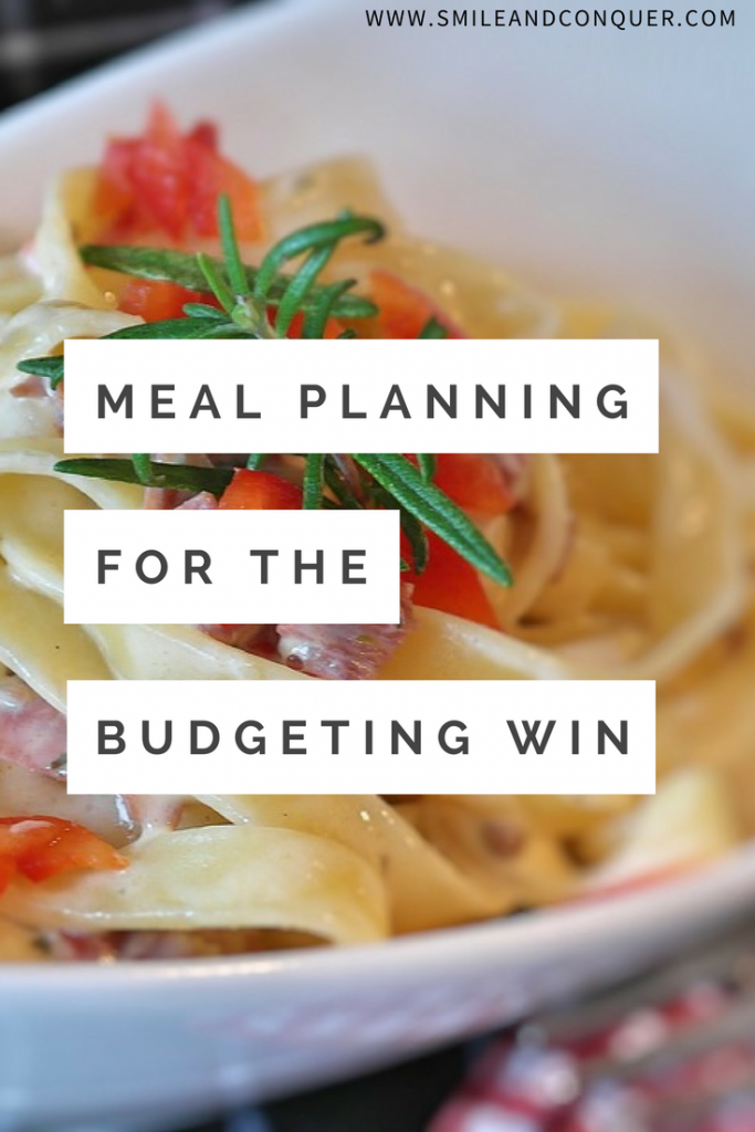 Save Money with Meal Planning (2 week plan included)