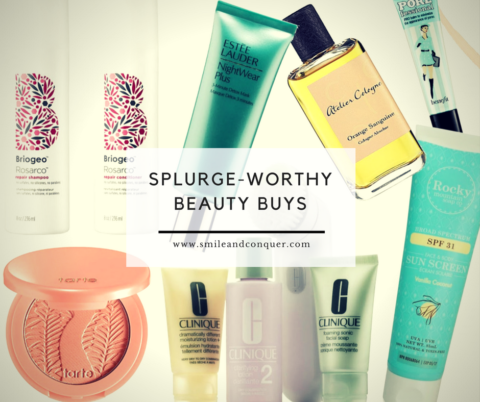 Beauty products that are worth the price