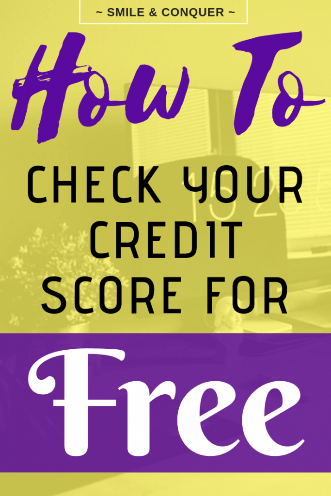 Did you know you should check your credit score every year? Find out how to do it for free!