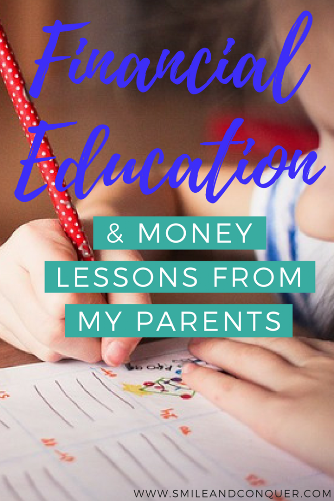 Money Lessons from my Parents