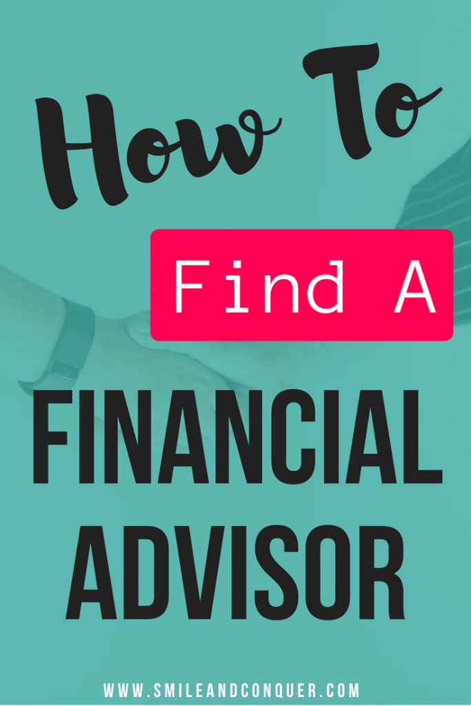 Step by step instructions to find a financial advisor that will work with you to create a plan.