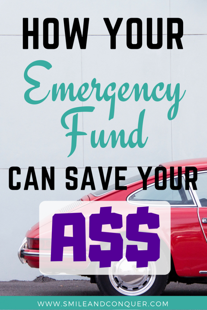 Why your emergency fund is so important and how mine save my butt!