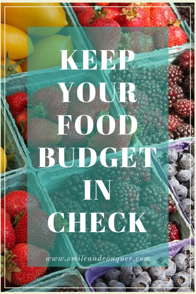 Lower your Food Budget without Wasting Time