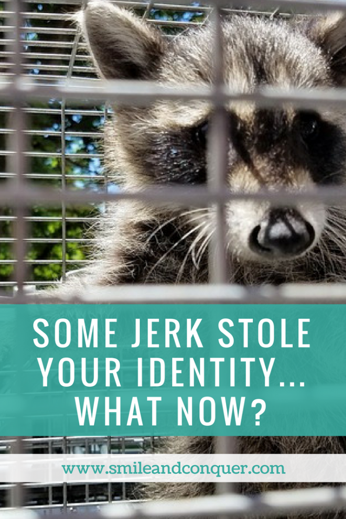 What to do if your identity gets stolen?