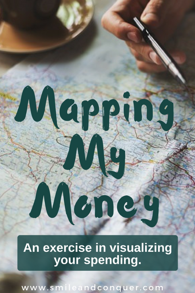 Visualizing your spending with a money map.