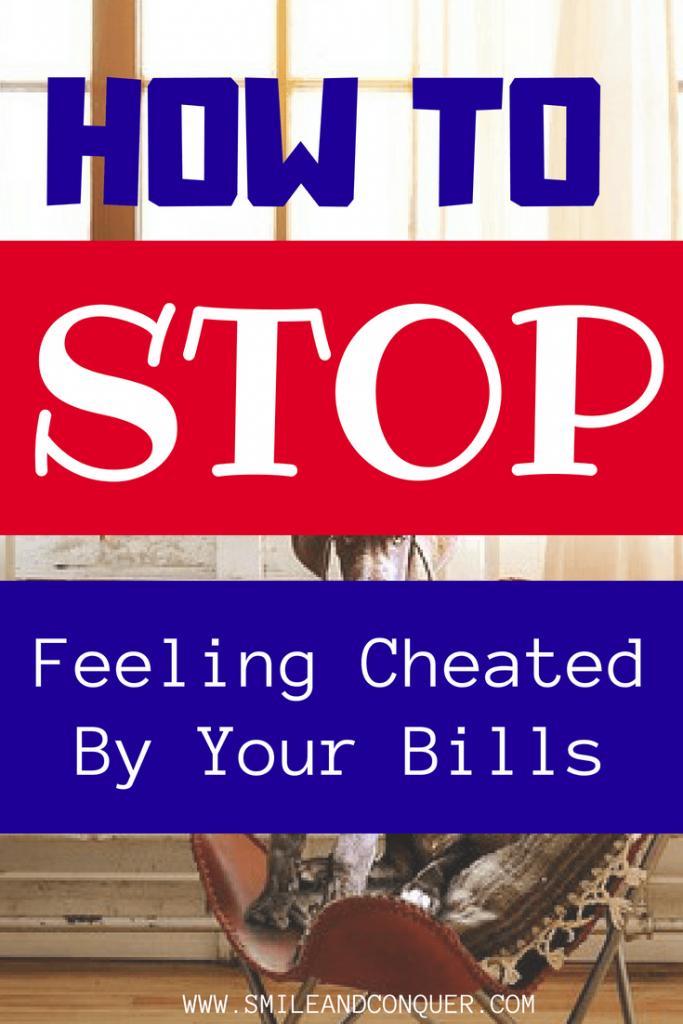 Paying your bills can be the worst? But it doesn't have to be. Find out my tips on switching your bill paying mindset to the positive.