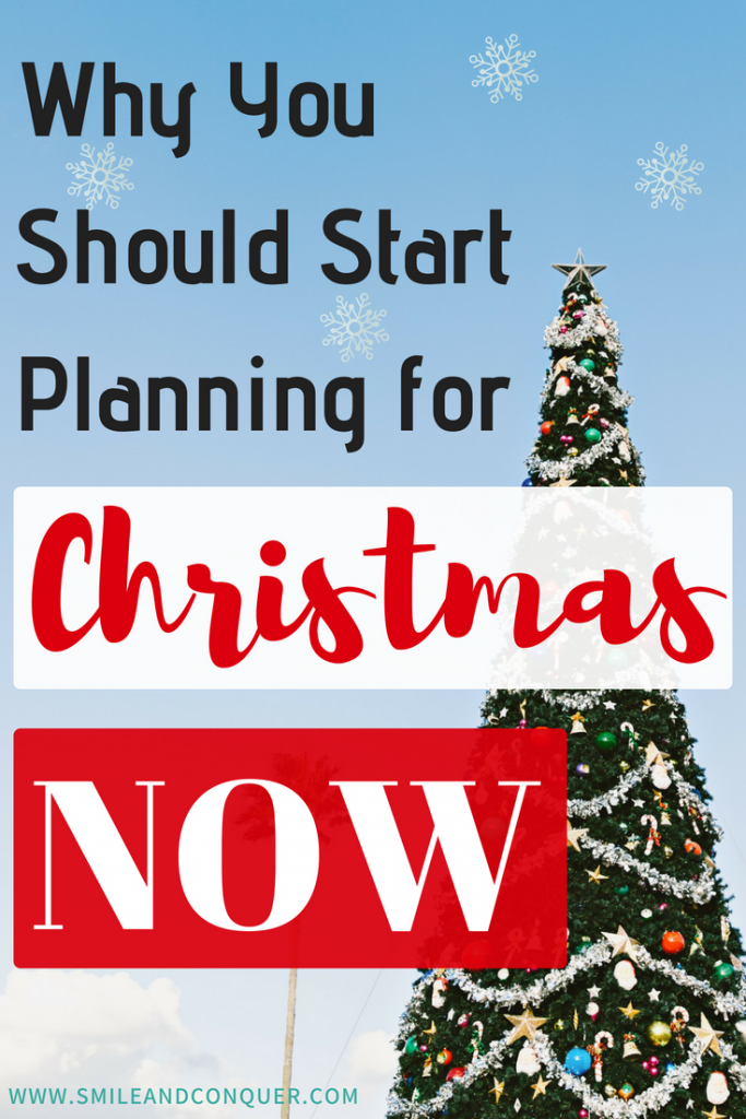 Starting to think about Christmas early can save you time, money, and stress when December rolls around!