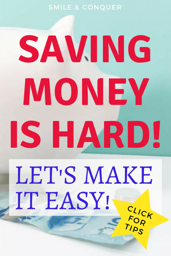 Finding saving money hard? You're not alone. Let's talk about the why and the how to fix that!