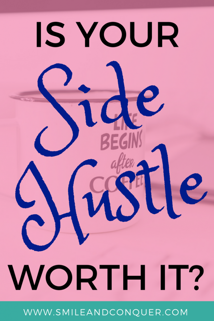 Is your side hustle killing your work life balance? It's ok to not do it all.
