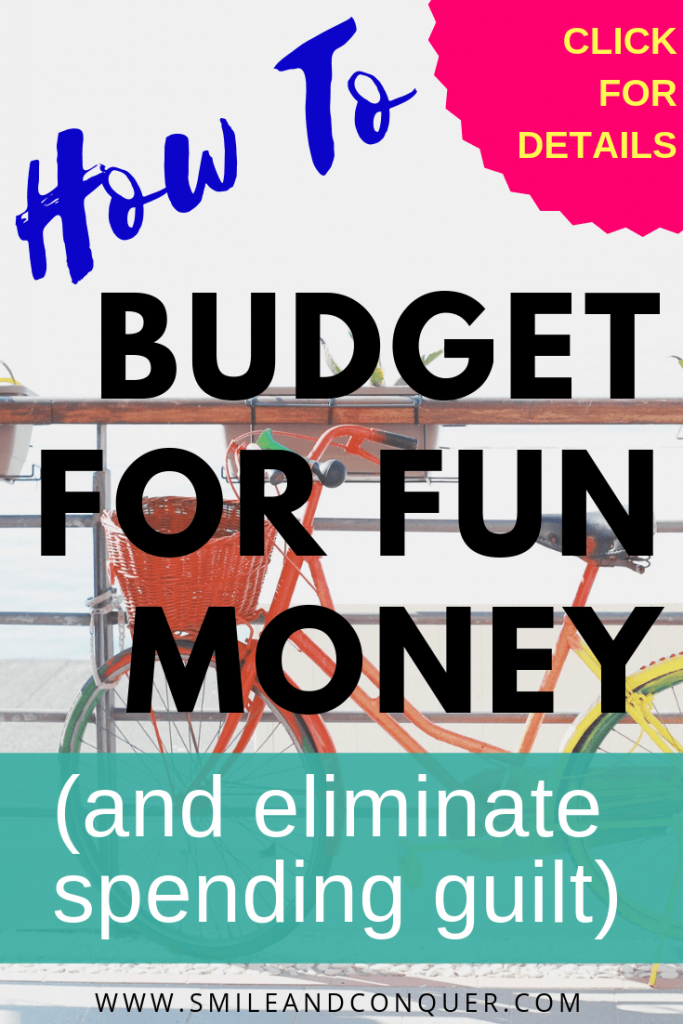 Find out how #budgeting can provide you with fun money and eliminate guilt free spending.